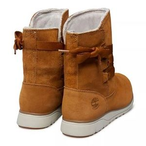 timberland women Leighland pull on boots size 8 NWT